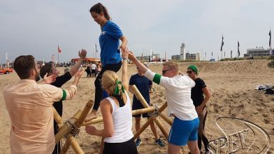 Bedrijfsuitje_Expeditie_Robinson_strand_Noordwijk-19
